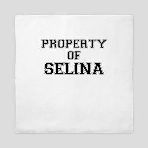 Property of SELINA Queen Duvet