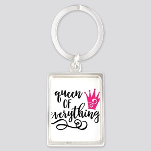 QUEEN of everything Keychains