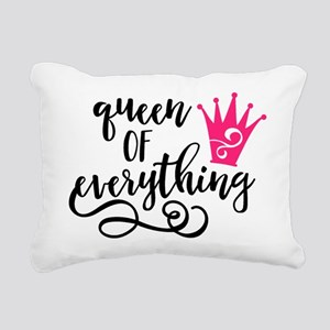 QUEEN of everything Rectangular Canvas Pillow