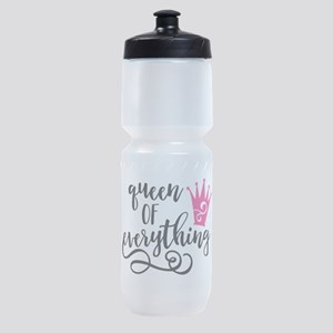 QUEEN of everything Sports Bottle