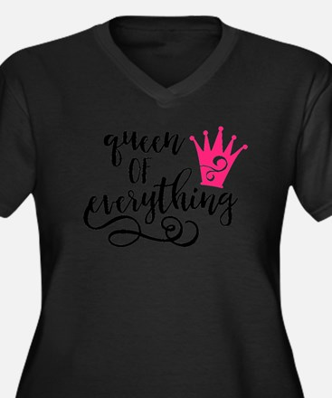 QUEEN of everything Plus Size T-Shirt
