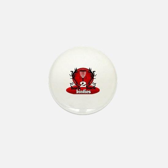 Cute Discgolf discs Mini Button