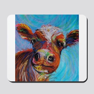 Bessie the Cow Mousepad