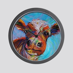 Bessie the Cow Wall Clock