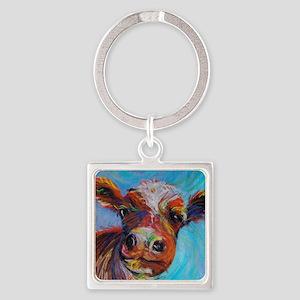 Bessie the Cow Keychains