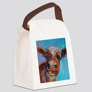 Bessie the Cow Canvas Lunch Bag