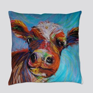 Bessie the Cow Everyday Pillow