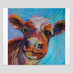 Bessie the Cow King Duvet