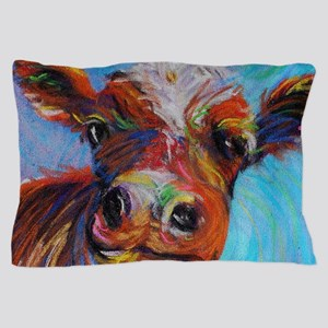 Bessie The Cow Pillow Case