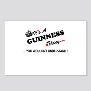 GUINNESS thing, you would Postcards (Package of 8)