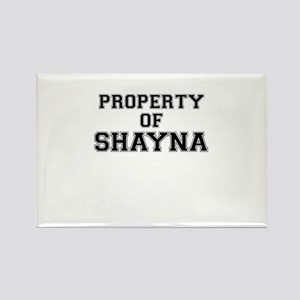 Property of SHAYNA Magnets