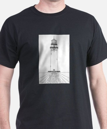 Lighthouse Outline T-Shirt