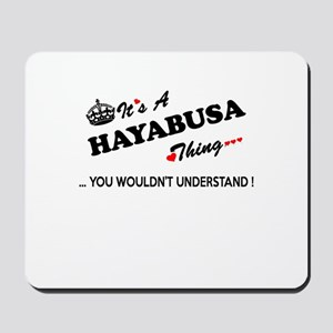 HAYABUSA thing, you wouldn't understand Mousepad