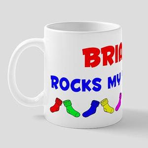 Brianna Rocks Socks (A) Mug