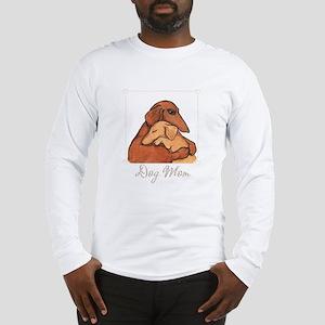 Dog Mom Long Sleeve T-Shirt