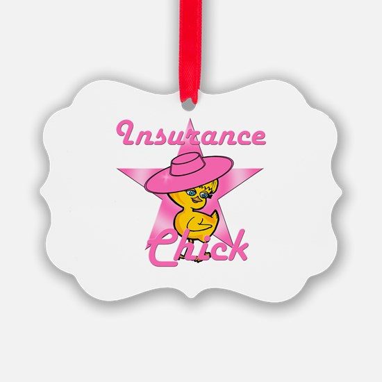 Insurance Chick #8 Ornament