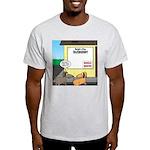 Taxidermist Models Wanted Sign Light T-Shirt