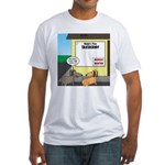 Taxidermist Models Wanted Sign Fitted T-Shirt