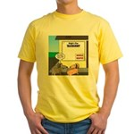 Taxidermist Models Wanted Sign Yellow T-Shirt