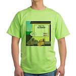 Taxidermist Models Wanted Sign Green T-Shirt