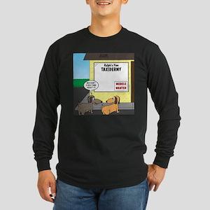 Taxidermist Models Wanted Long Sleeve Dark T-Shirt