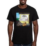 Taxidermist Models Wan Men's Fitted T-Shirt (dark)