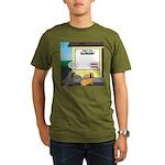 Taxidermist Models Wa Organic Men's T-Shirt (dark)