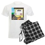 Taxidermist Models Wanted Sig Men's Light Pajamas