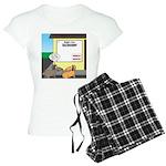 Taxidermist Models Wanted S Women's Light Pajamas
