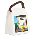 Taxidermist Models Wanted Sign Canvas Lunch Bag