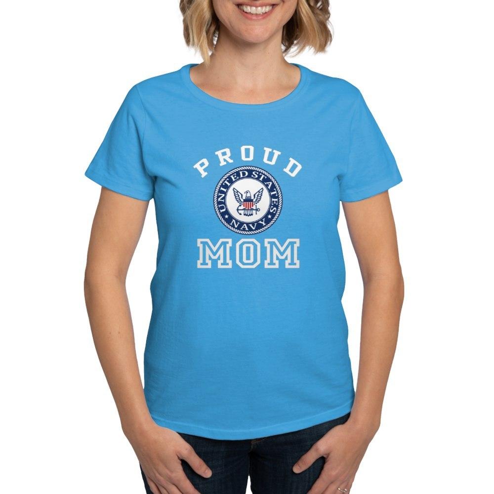 CafePress-Proud-US-Navy-Mom-Women-039-s-Dark-T-Shirt-Womens-T-Shirt-19995102 thumbnail 48