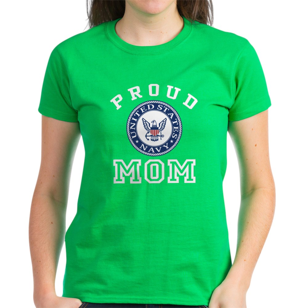 CafePress-Proud-US-Navy-Mom-Women-039-s-Dark-T-Shirt-Womens-T-Shirt-19995102 thumbnail 66