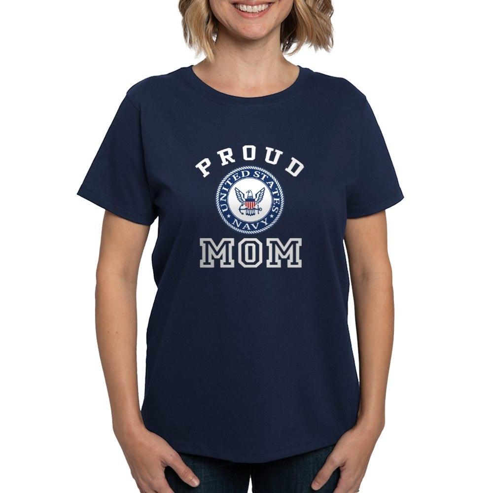 CafePress-Proud-US-Navy-Mom-Women-039-s-Dark-T-Shirt-Womens-T-Shirt-19995102 thumbnail 36
