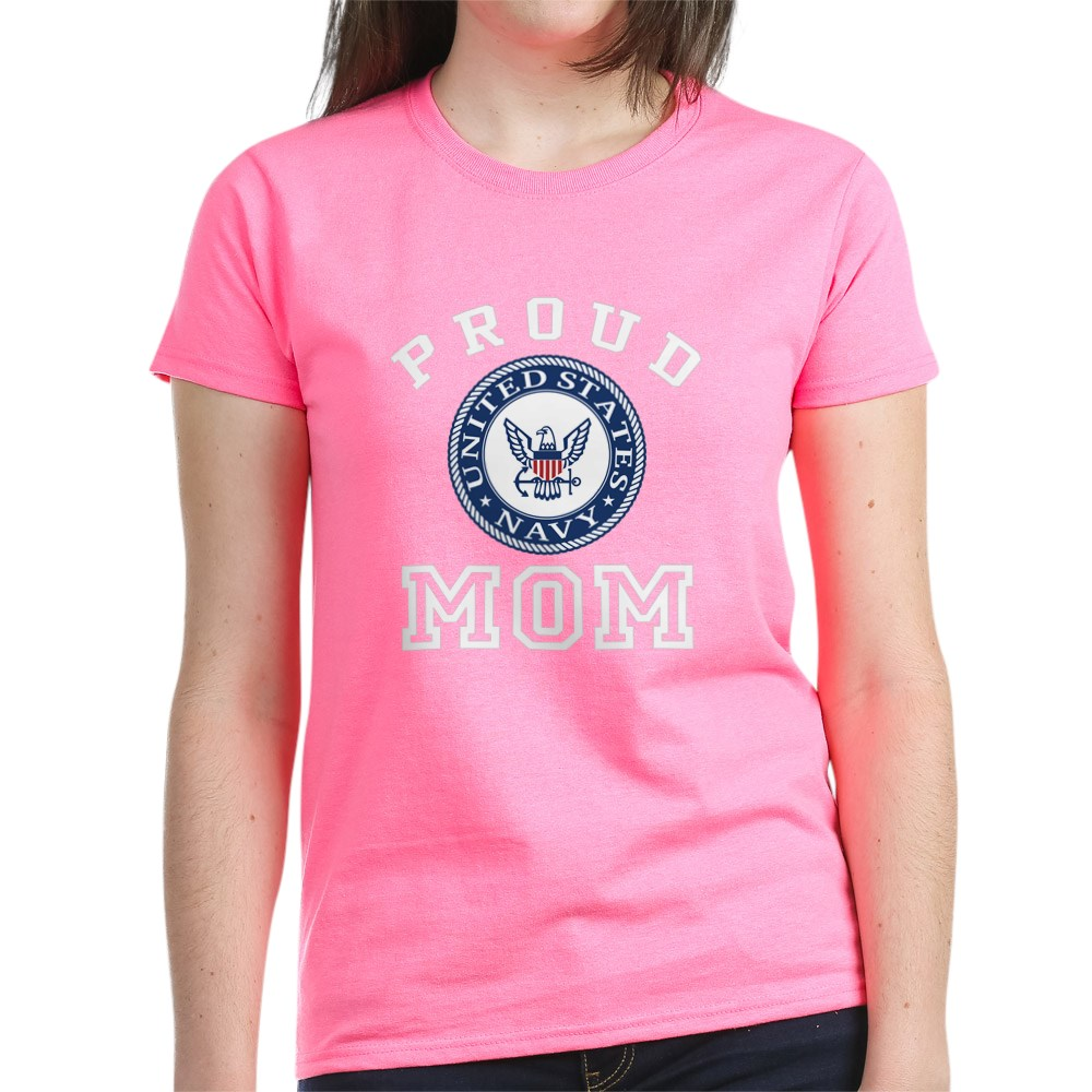 CafePress-Proud-US-Navy-Mom-Women-039-s-Dark-T-Shirt-Womens-T-Shirt-19995102 thumbnail 22