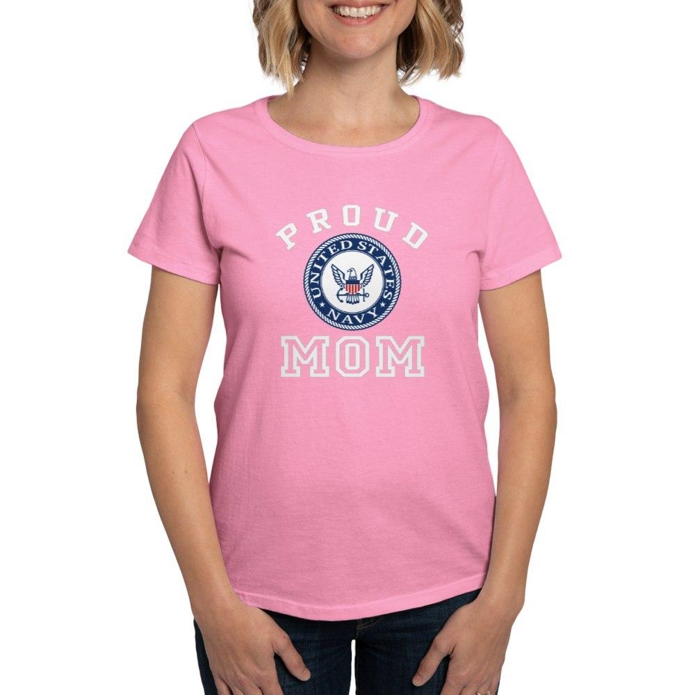 CafePress-Proud-US-Navy-Mom-Women-039-s-Dark-T-Shirt-Womens-T-Shirt-19995102 thumbnail 26