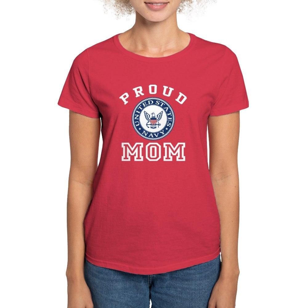 CafePress-Proud-US-Navy-Mom-Women-039-s-Dark-T-Shirt-Womens-T-Shirt-19995102 thumbnail 18