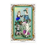 Ferret Celtic Rockmini Poster Print
