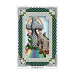 Celtic Rainbow Bridge Mini Poster Print
