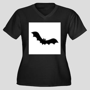 Halloween Bat Plus Size T-Shirt