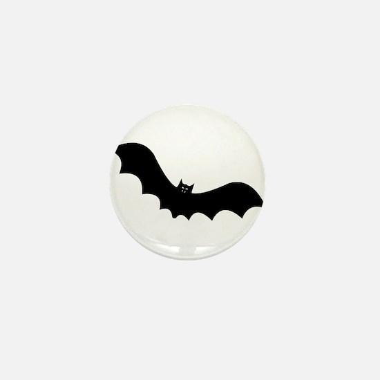 Halloween Bat Mini Button