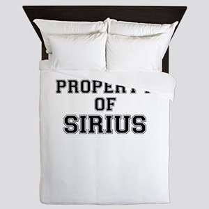 Property of SIRIUS Queen Duvet