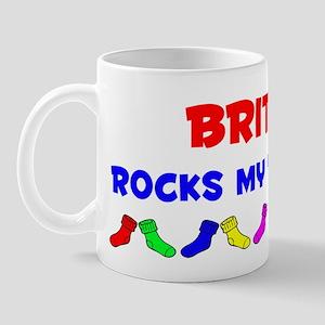 Britney Rocks Socks (A) Mug