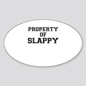 Property of SLAPPY Sticker