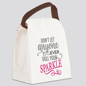 DULL YOUR SPARKLE Canvas Lunch Bag