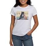 Dog n Mog #1 We're pals. Yes, Women's T-Shirt