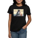 Dog n Mog #1 We're pals. Yes, Women's Dark T-Shirt