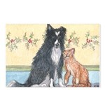 Dog n Mog #1 We're pals. Yes, Postcards (Package o