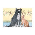 Dog n Mog #1 We're pals. Yes, Mini Poster Print