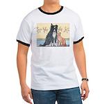 Dog n Mog #1 We're pals. Yes, Ringer T