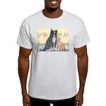 Dog n Mog #1 We're pals. Yes, Light T-Shirt